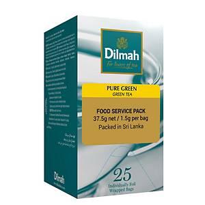Dilmah Pure Green Tea Bag 1.5G - Box of 25