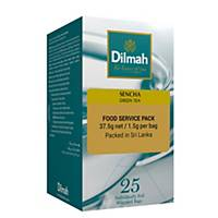 Dilmah Sencha Green Tea Bag 1.5G - Box of 25