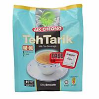 Aik Cheong Teh Tarik No Sugar 25G - Pack of 15