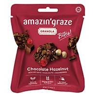 Amazin  Graze Mini Chocolate Hazelnut Granola Bites 40g - Box of 10