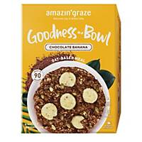 Amazin  Graze Chocolate Banana Instant Oatmeal (Goodness Bowl) 6x40g
