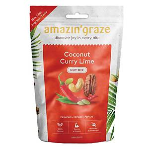 Amazin  Graze Coconut Curry Lime Nut Mix 100g
