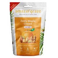Amazin  Graze Zesty Maple Glazed Nut Mix 100g