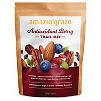 Amazin  Graze Antioxidant Berry Trail Mix 130g