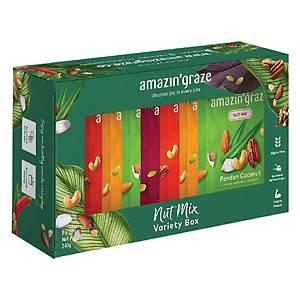 Amazin  Graze Nuts Variety 30g - Box of 8