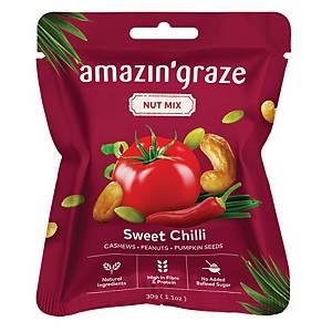 Amazin  Grace Mini  Sweet Chili Nut Mix 30g - Box of 10