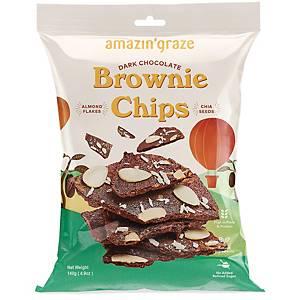 Amazin  Graze Dark Chocolate Brownie Chips 140g