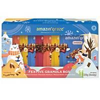 Amazin  Graze Festive Granola Box 40g - Box of 8
