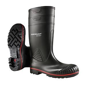 Bottes de sécurité Dunlop Acifort® Heavy Duty, S5, noires, pointure 45, la paire
