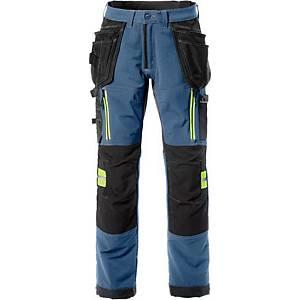 Pantalon de travail Fristads Ultimate 2566, bleu, taille 62, la pièce