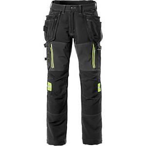 Pantalon de travail Fristads Ultimate 2566, noir, taille 56, la pièce