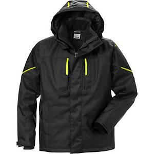 Fristads Dynamic 4058 Airtech® winterjack, zwart hi-viz geel, maat 4XL, per stuk