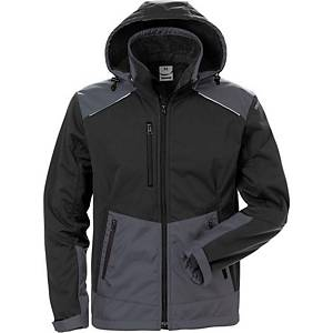 FRISTADS 4060 SOFTSHELL BLACK/GREY L