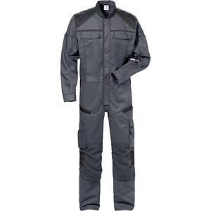 Fristads Fusion 8555 overall, grijs/zwart, maat 4XL, per stuk