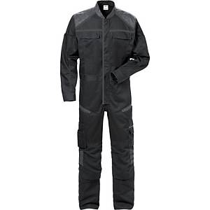 Fristads Fusion 8555 overall, zwart/grijs, maat XS, per stuk
