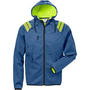 FRISTADS 7461 HOODED SOFTSHELL BLUE 3XL