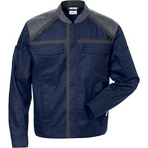 FRISTADS 4555 JACKET NAVY/GREY L