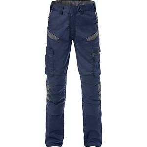 FRISTADS 2555 TROUSERS NAVY/GREY 48
