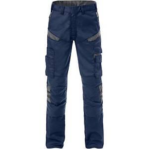 Pantalon de travail Fristads Fusion 2555, bleu marine/gris, taille 48, la pièce