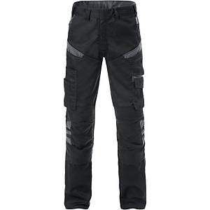 Pantalon de travail Fristads Fusion 2555, noir/gris, taille 56, la pièce