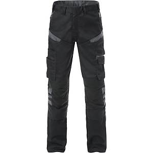 FRISTADS 2555 TROUSERS BLK/GREY 60