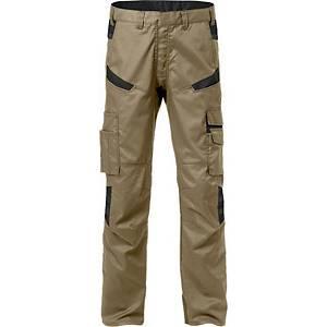Pantalon de service Fristads Fusion 2552, kaki/noir, taille 52, la pièce