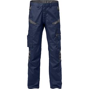 FRISTADS 2552 TROUSERS NAVY/GREY 58