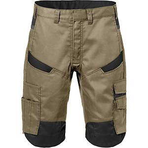 FRISTADS 2562 SHORTS KHAKI/BLACK 44