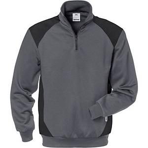 Sweat-shirt Fristads Dynamice 7048, gris/noir, taille XL, la pièce