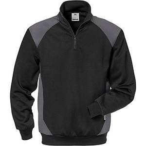 Sweat-shirt Fristads Dynamice 7048, noir/gris, taille XL, la pièce