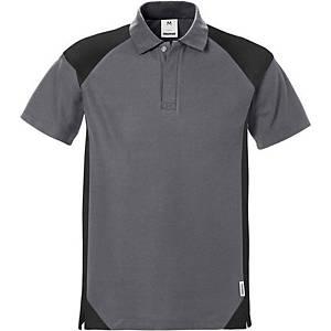Polo Fristads Dynamic 7047, gris/noir, taille S, la pièce