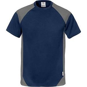 Fristads Dynamic 7046 T-shirt, navy/grijs, maat 2XL, per stuk