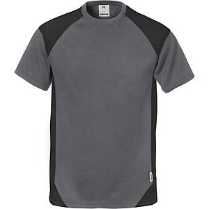 FRISTADS 7046 T-SHIRT GREY/BLACK 3XL