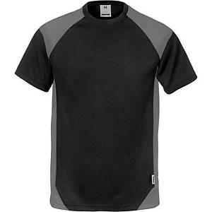 T-shirt Fristads Dynamic 7046, noir/gris, taille M, la pièce