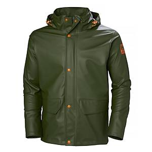 HH 480 GALE RAIN JACKET ARMY GREEN S