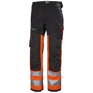 Pantalon Helly Hansen Alna 2.0 classe 1, orange hi-viz/noir, taille 50, la pièce