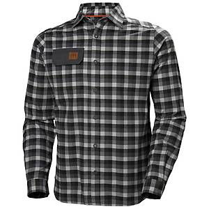 HH 970 KENSINGTON SHIRT DARK GREY 2XL