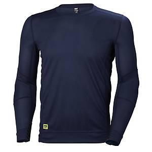 T-shirt thermique Helly Hansen Lifa, bleu marine, taille L, la pièce