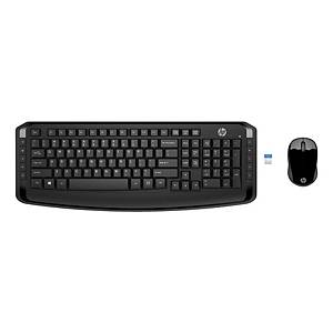 HP 300 Wireless Keyboard Combo