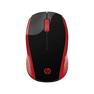 HP 200 Wireless Mouse - Red