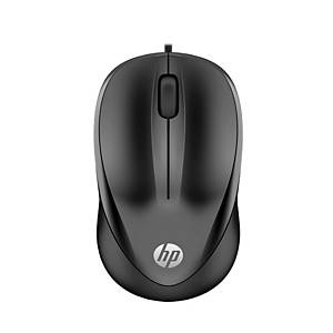 HP 100 Wired Mouse - Black