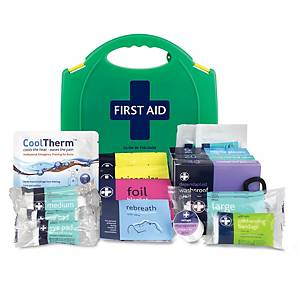 BS8599-1 Small First Aid Kit Glow In Dark