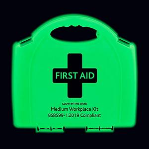 BS8599-1 Med First Aid Kit Glow In Dark