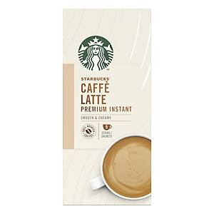 Starbucks Latte Premium Instant Coffee Sachets - Pack of 30