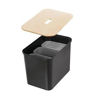 Komplet system til affaldssortering SmartStore Collect, sort