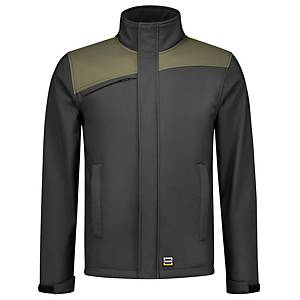 TRICORP 402021 SOFTSHELL GREY/ARMY 4XL