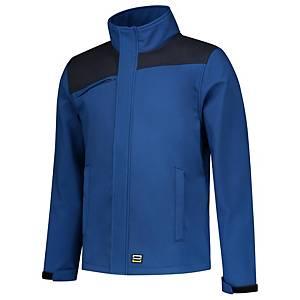 Softshell Tricorp Bicolor Coutures 402021, bleu roi/bleu marine, M, la pièce
