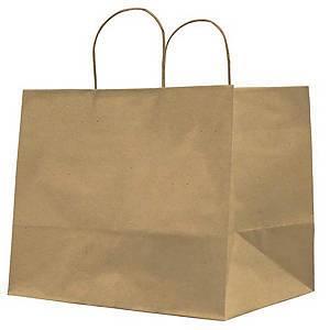 /Shopper Home Delivery in carta kraft 32 x 20 x 33 cm marrone - conf. 25