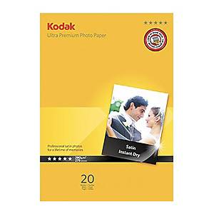 /Carta fotografica satinata Kodak Ultra Premium 280 g/mq 10X15 cm