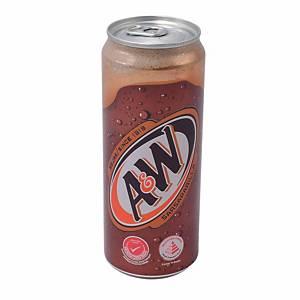 A&W Sarsaparilla Can Drink 330ml - Box of 12